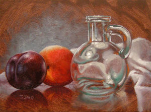 Fruit & Glass Cruet