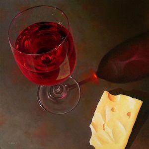 Wine & Jarlsberg 2 Sm