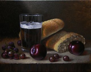 Beer Bread and Plums sm